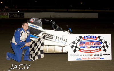 NEW FACES IN VICTORY LANE AT SPIRIT AUTO CENTER SPEEDWAY