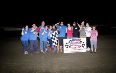 KELLER & LOCUSON ARE BIG WINNERS IN SPIRIT AUTO CENTER FRIDAY NIGHT ACTION