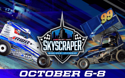 SMITH & HENDERSHOT ARE FIRST WINNERS IN SKYSCRAPER MICRO SPRINT SPECTACULAR